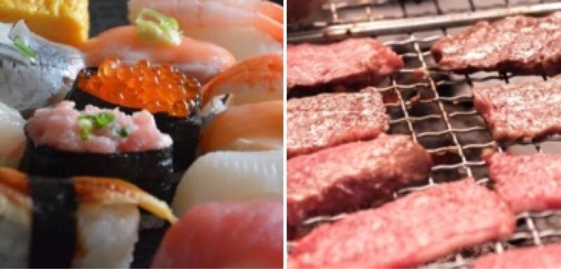 #5 焼肉お寿司弁当