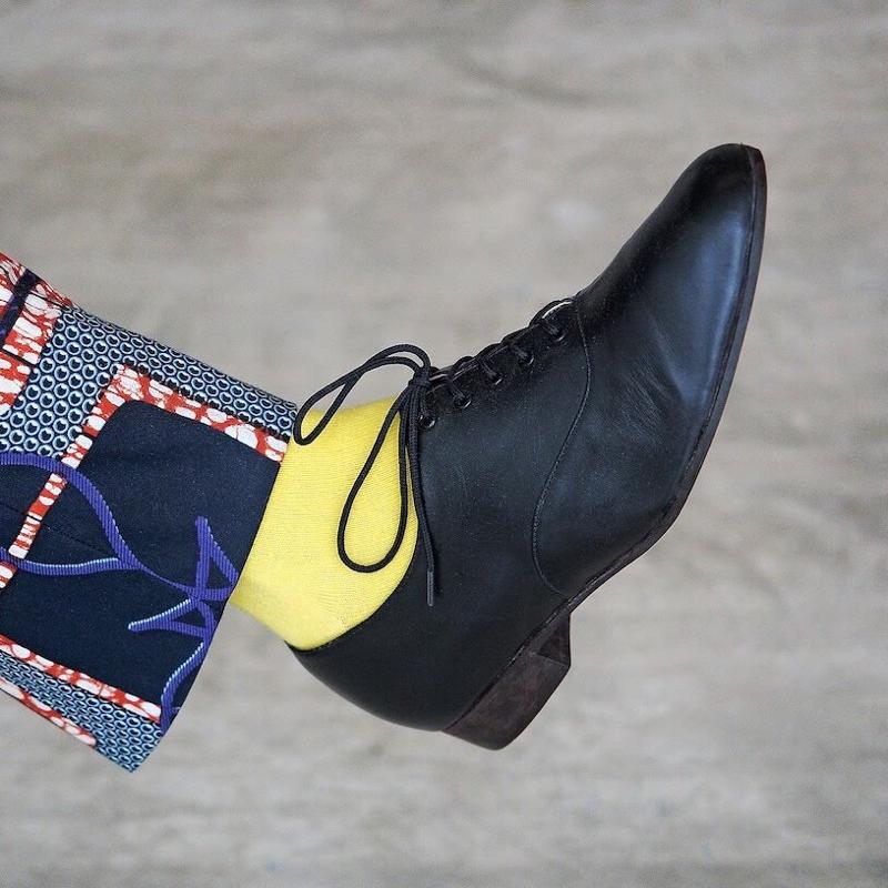 #08 Q&A「靴下の色」