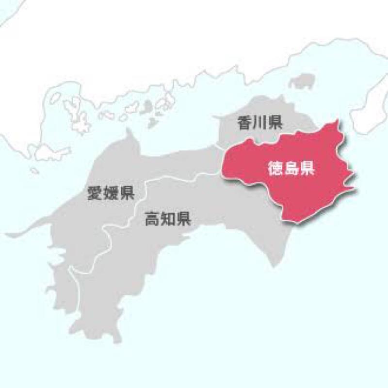 急な徳島県への出張