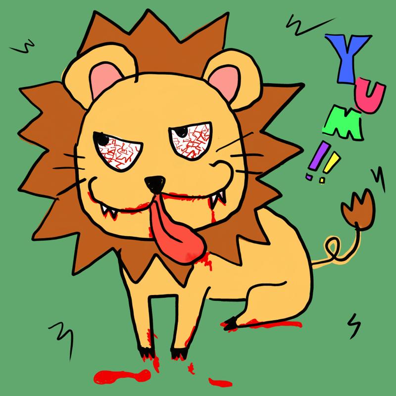 街に逃げたライオンが人を喰らう映画