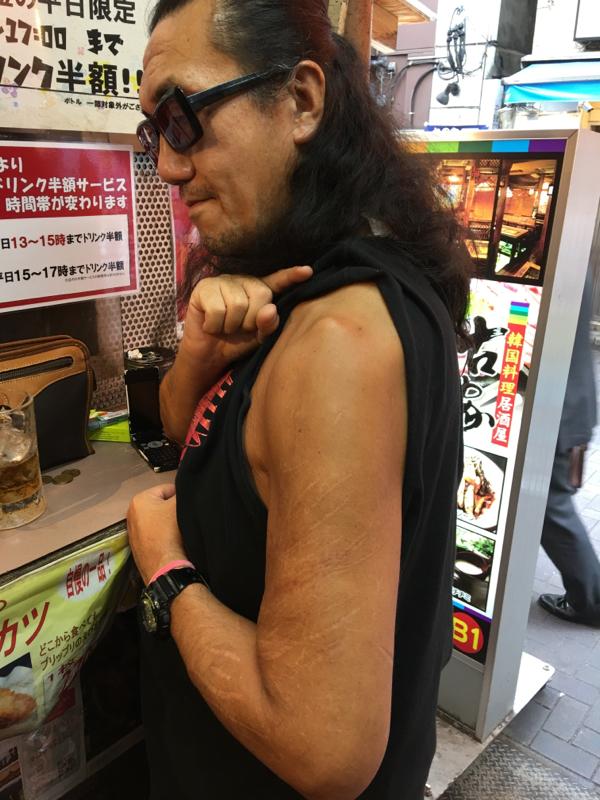 アジアンから帰還した神楽さんとGOSAKUさん3