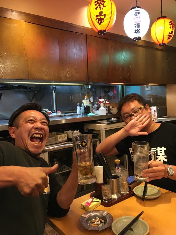 アジアンから帰還した神楽さんとGOSAKUさん10
