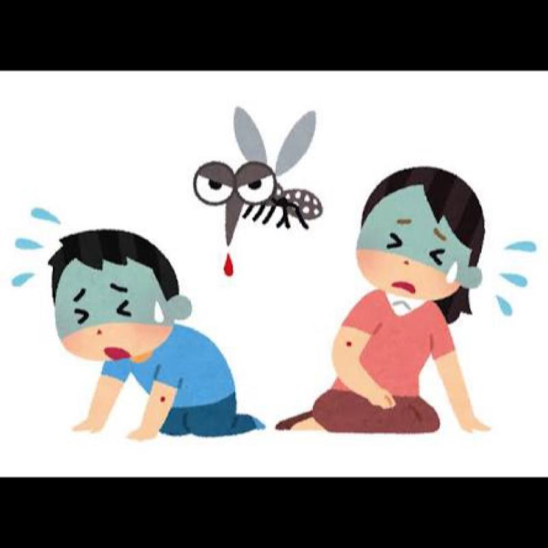♋️562:人間が他の生物によって死亡する原因第一位は、「蚊」。