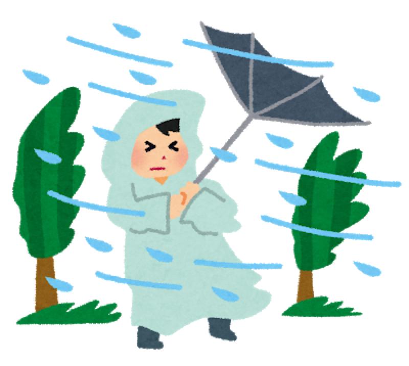 #2キャンパー台風に強し ほか日本台風ばなし