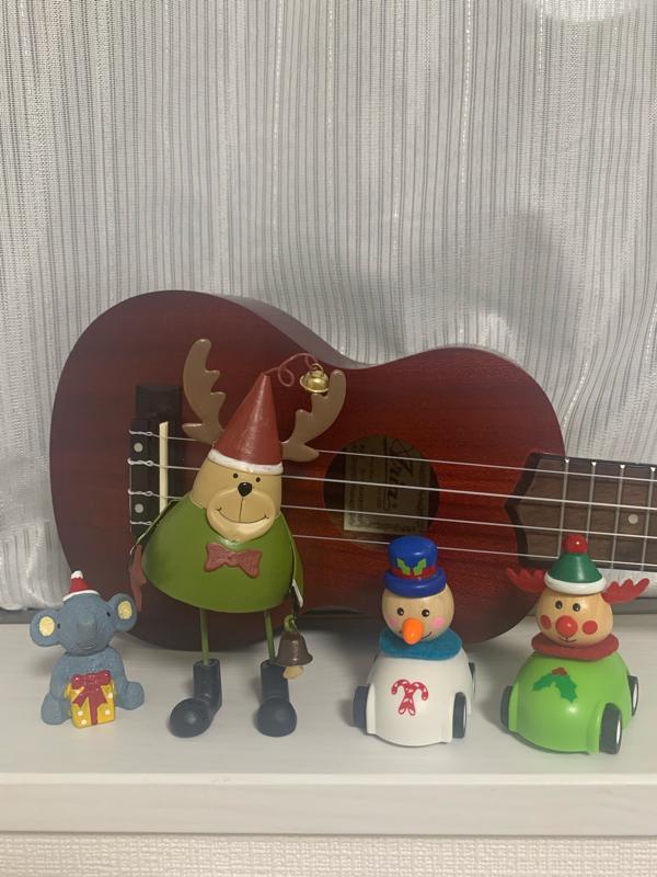 クーリスマスガ今年モヤァテクル
