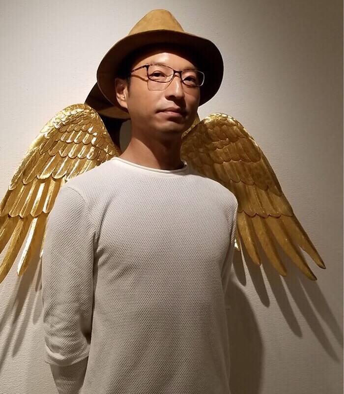 羽根の彫金作家 秋濱克大さんがゲスト