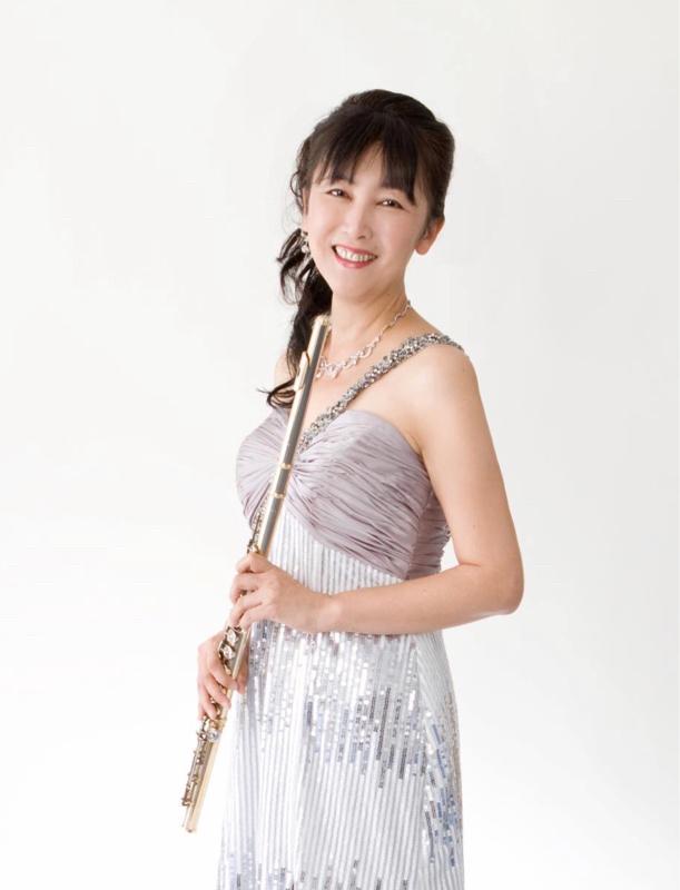 フルーティスト久米素子さん。昨日に続き音楽談義です。