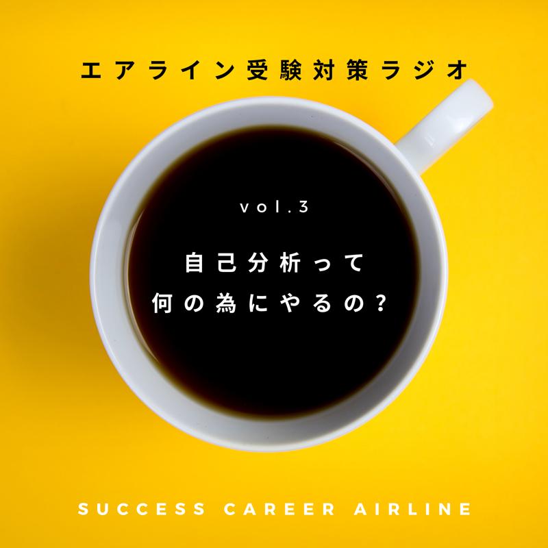 vol.3【自己分析って何の為にやるの?】