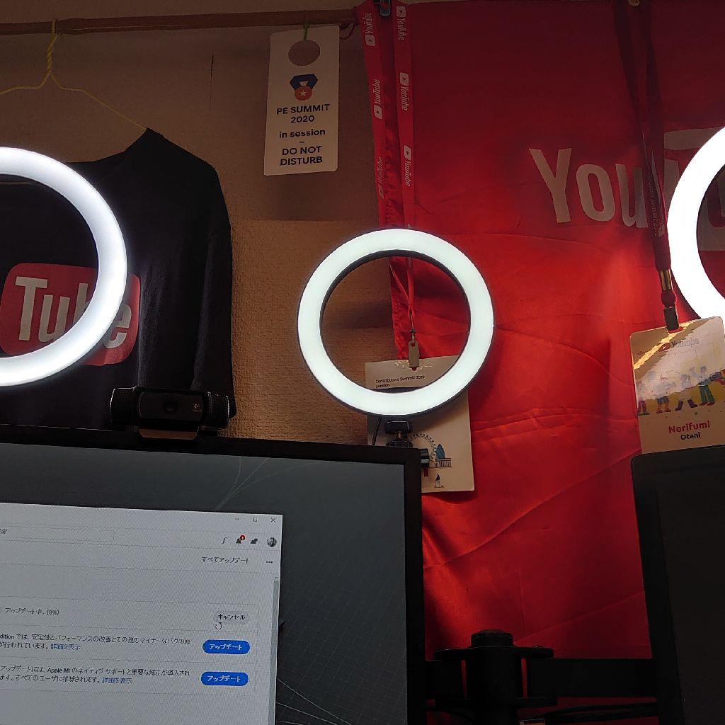 #137 LEDリングライト