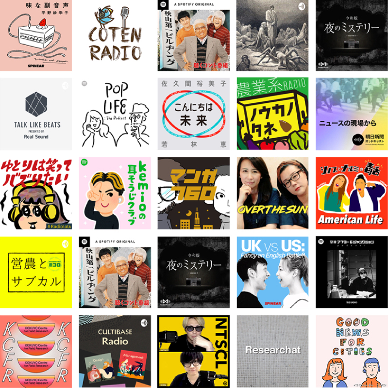 JAPAN PODCAST AWARDS 2020について。