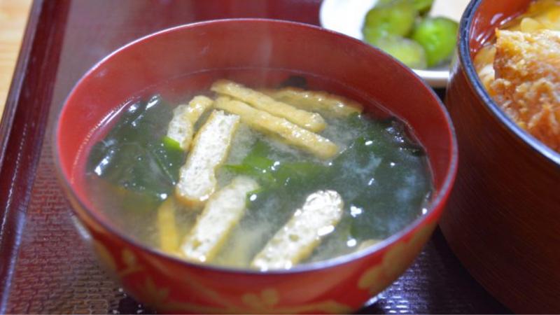 味噌汁トーーーク②