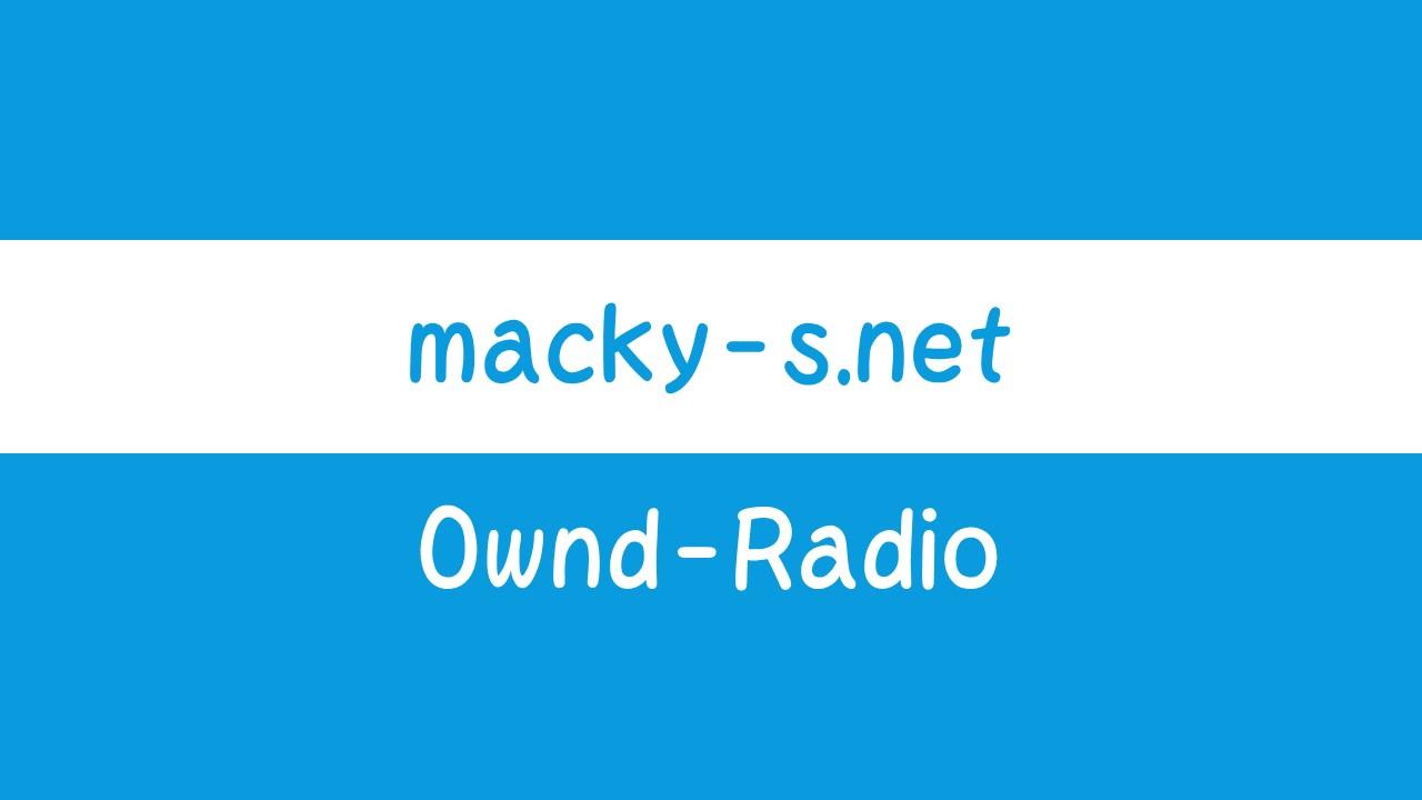 Ownd-Radio 20191013