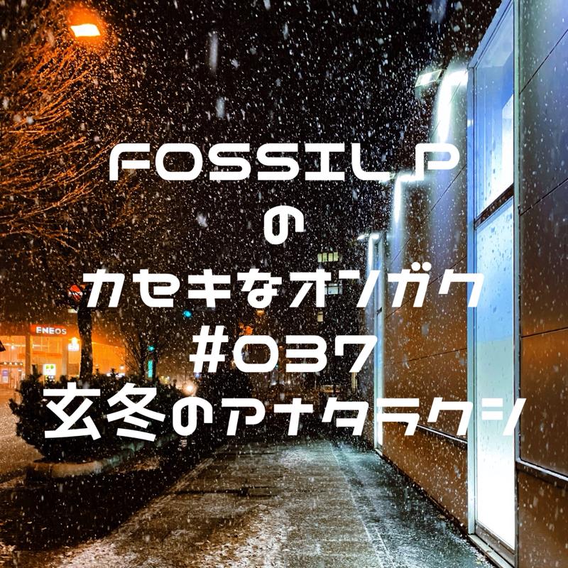 FOSSIL Pのカセキな音楽 #037  玄冬のアナタラクシ