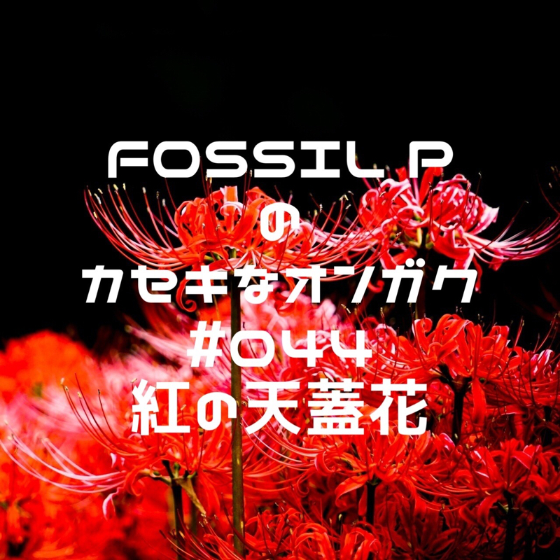 FOSSIL Pのカセキなオンガク #044  紅の天蓋花