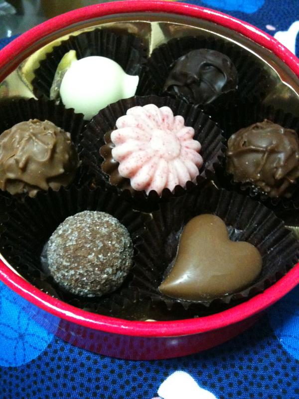 #4 「チョコっと食べるから美味しいのよね」の巻
