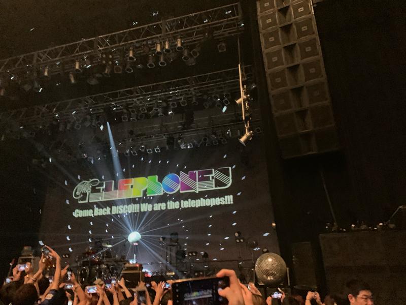 #9  thetelephones でDISCOが最高に楽しい!!