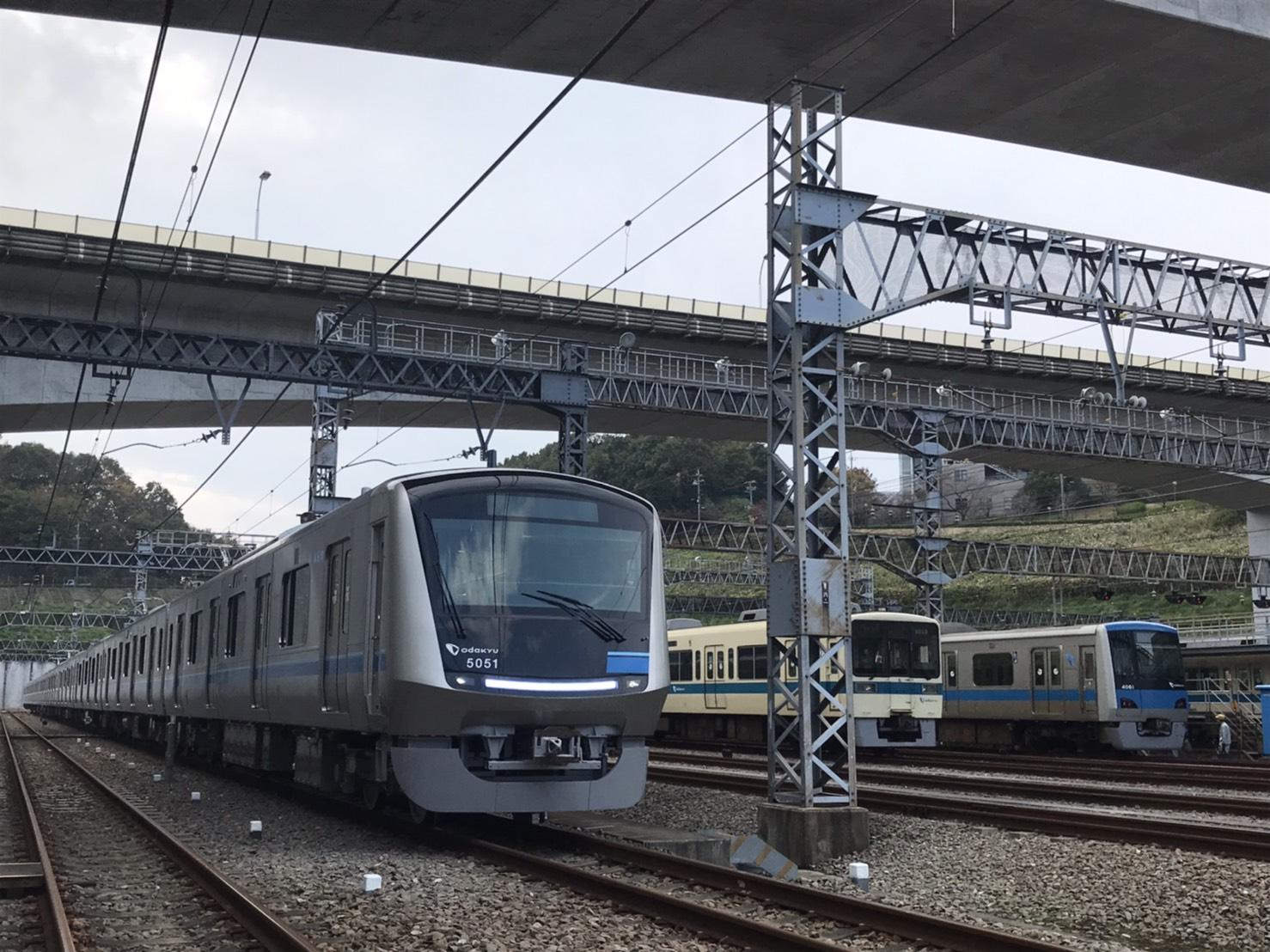 #3 ますみん部長が小田急新型通勤車両5000形報道公開に潜入!