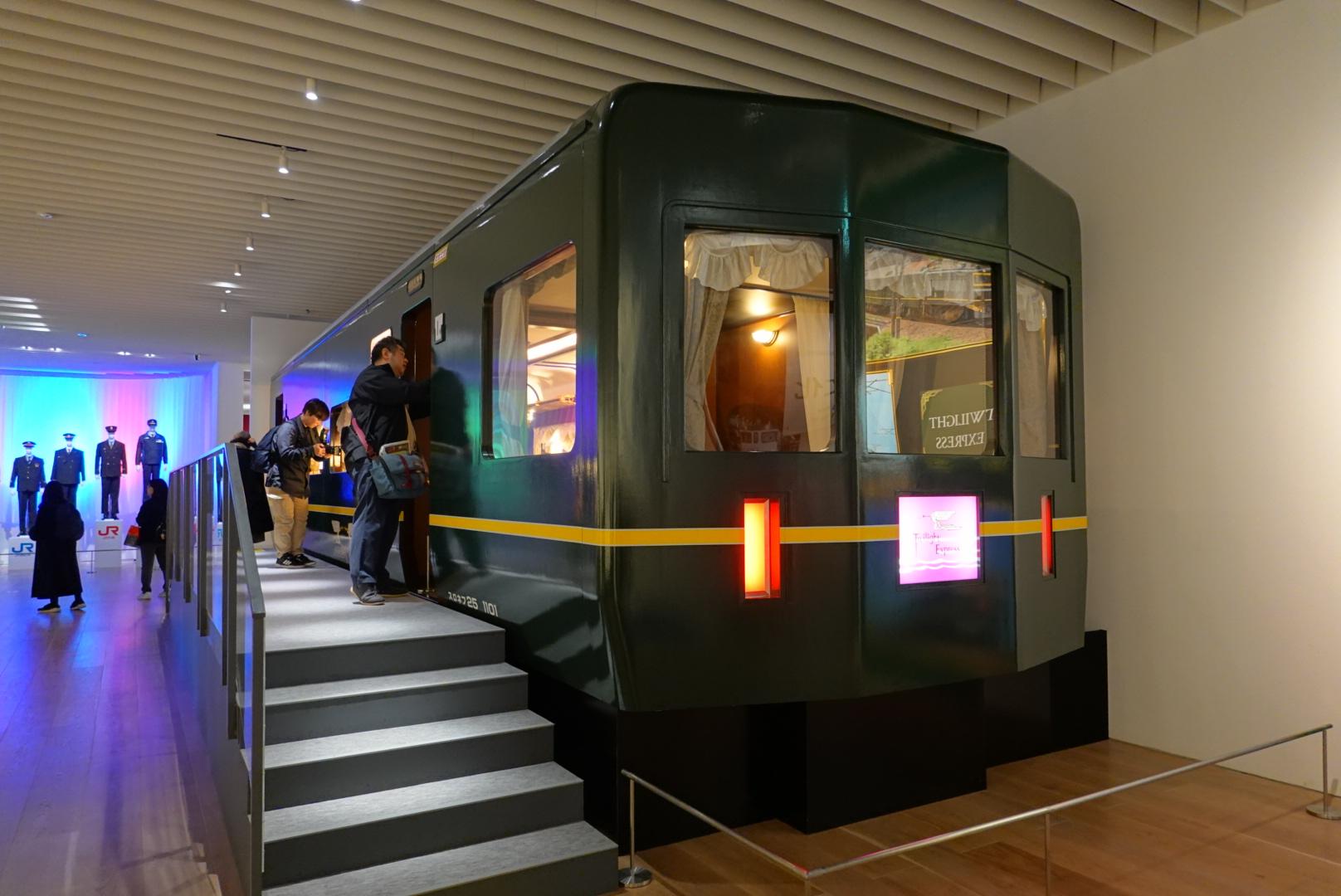 #12 「天空ノ鉄道物語」レポート2 実物大のトワイライトエクスプレスに大興奮!