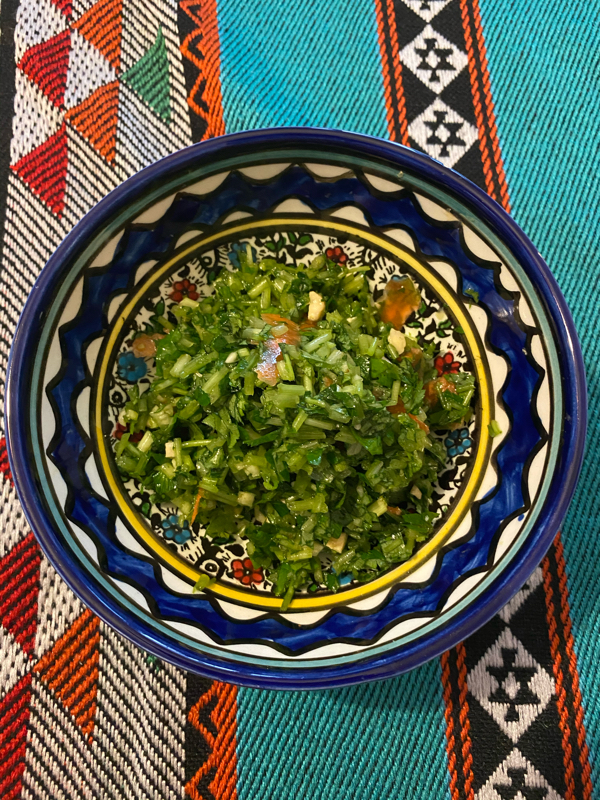 #8 公開レシピ 和食材でタッブーレを作る