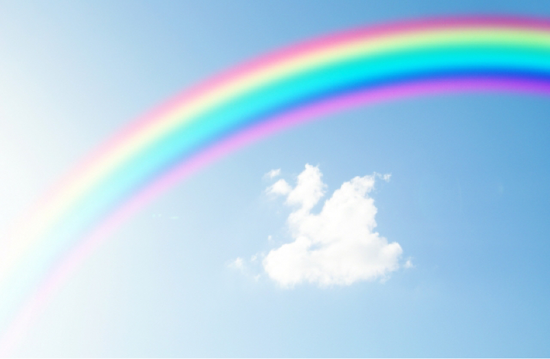 虹でアートヒーリング前半
