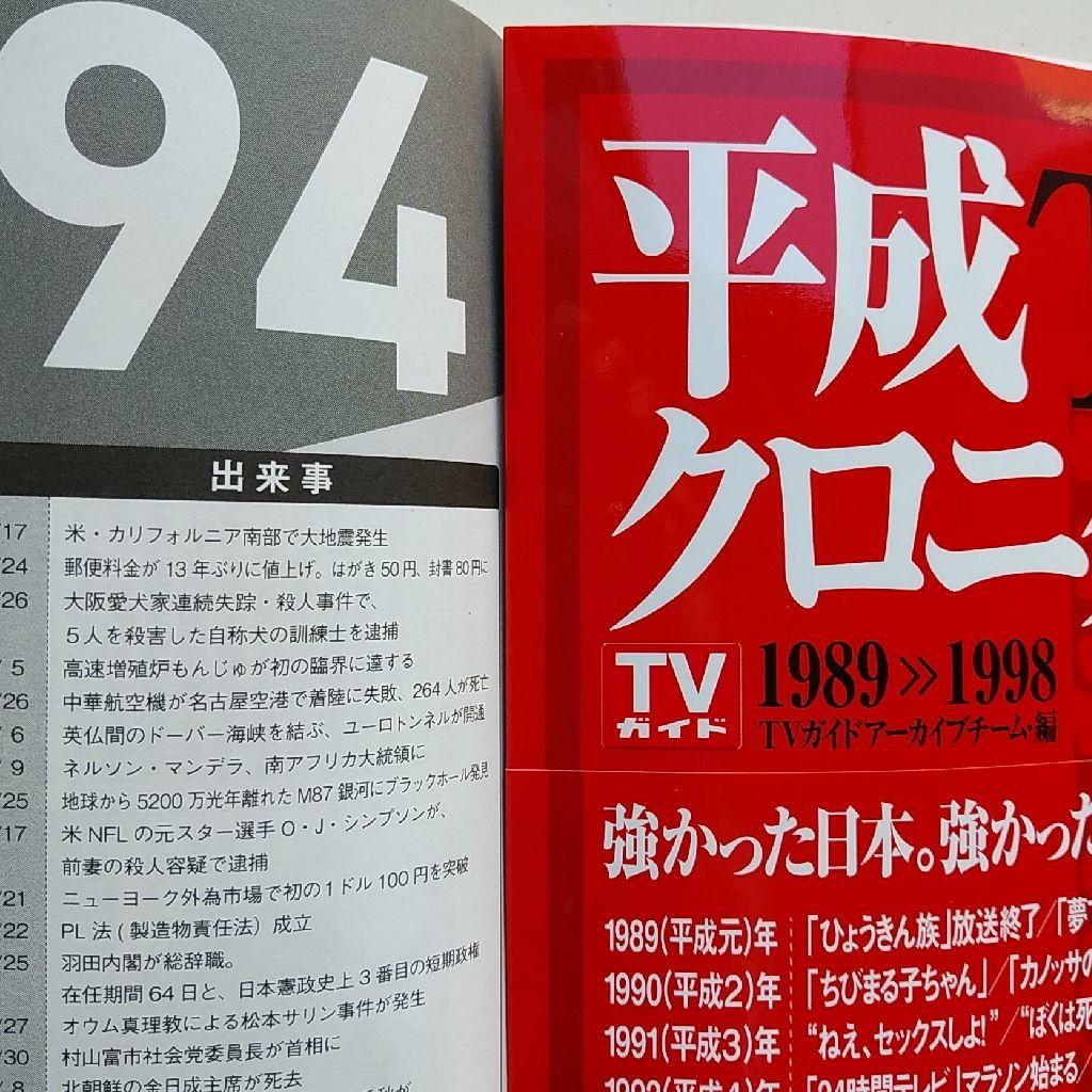 1994年のTVガイド!!!!!