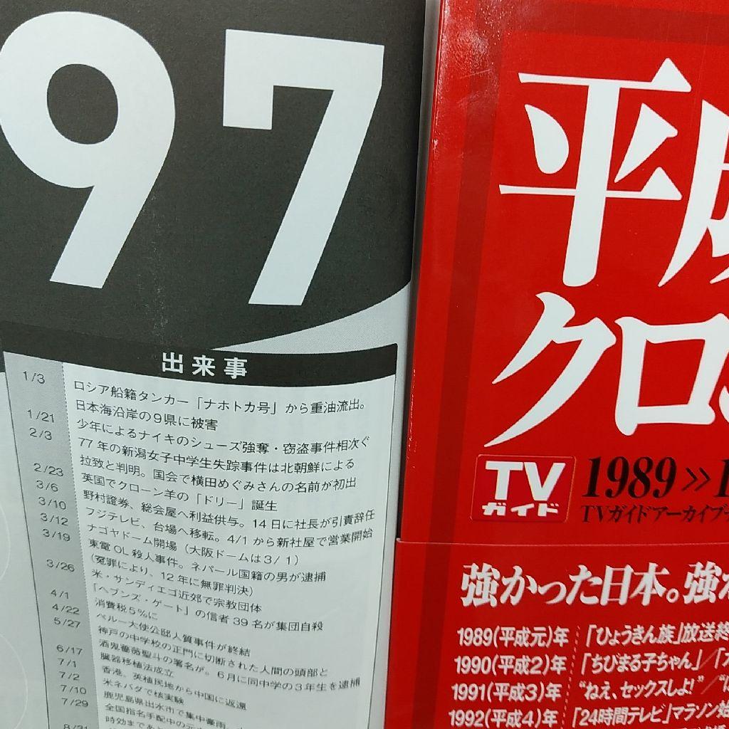 1997年のTVガイド!!!!!!!!