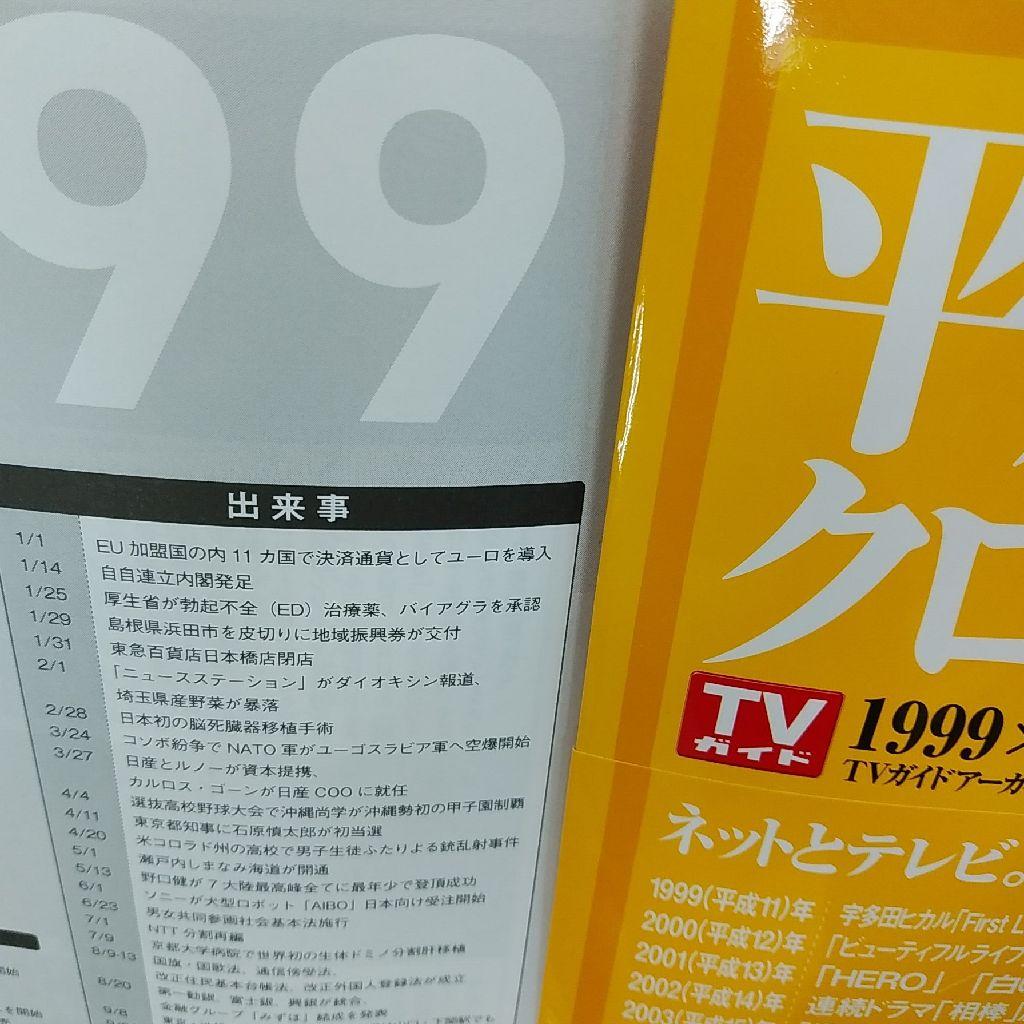 1999年のTVガイド!!!!!!!!!!!!!!!!!!!!