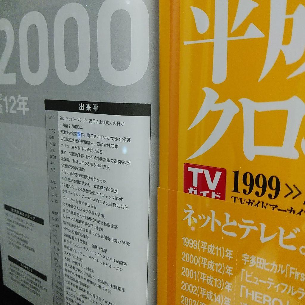 2000年のTVガイド!!!!!!!!!!!!!!!!!!!!