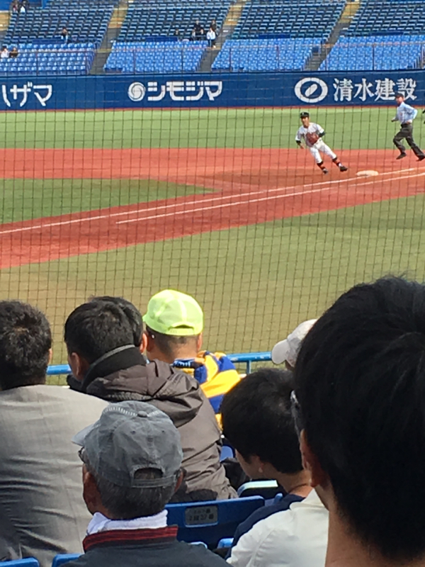 高校野球秋季東京都大会 準決勝&サウナ