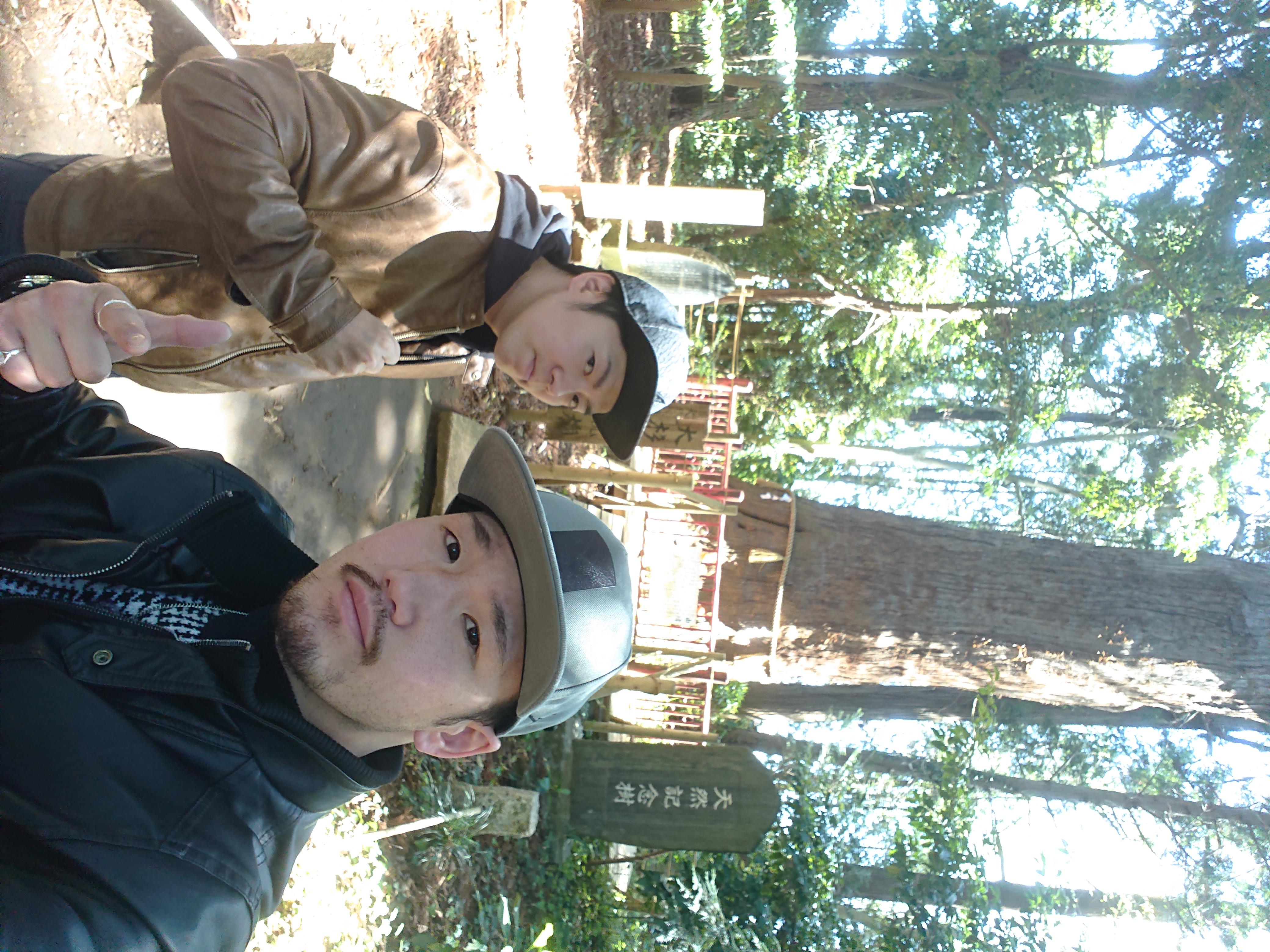 プロボクサー阿知和賢と相棒個人事業主MC広志️ 。二人合わせて「童子兄弟」です。