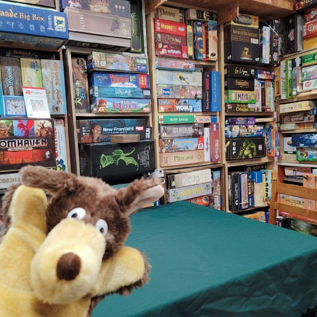 第23回魔王の森通信「最初に案内してるボードゲーム」