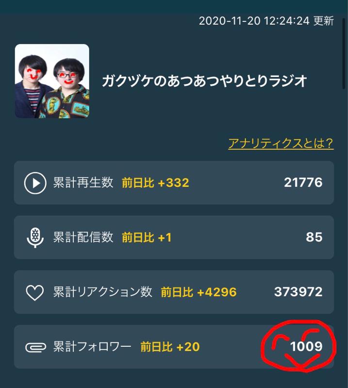 86.祝!フォロワー様1000人達成!