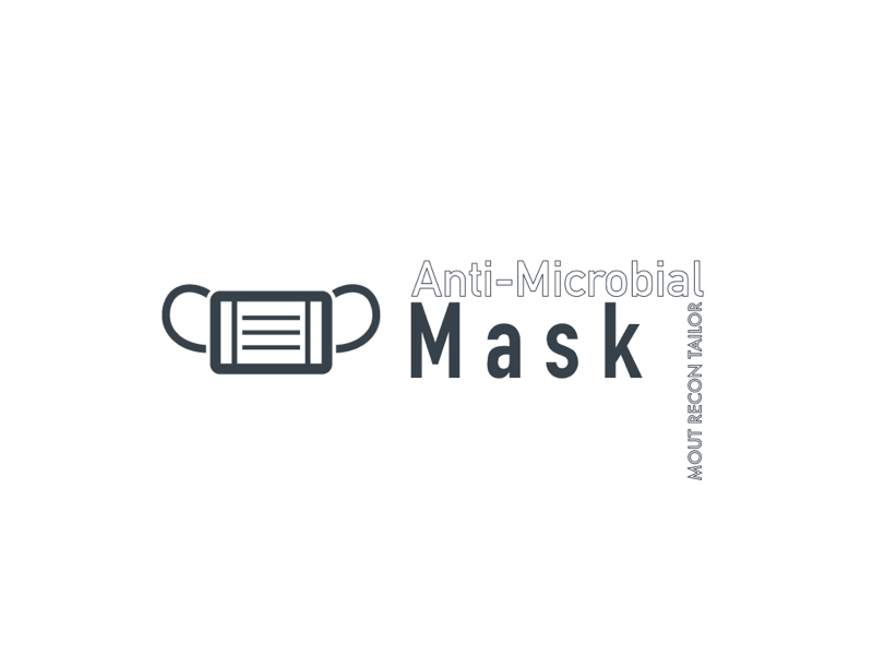 "#Hollect Log. ストラップが目を惹く""Anti-Microbial Mask"""