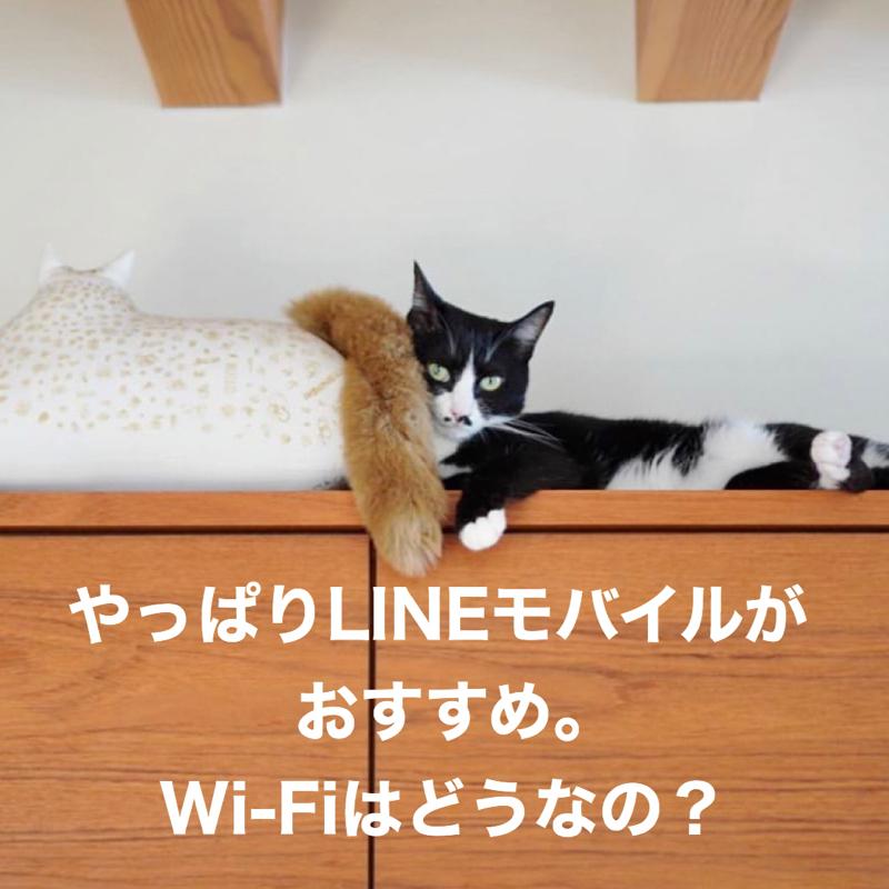 #232 LINEモバイルが最高な話とWi-Fiについて。