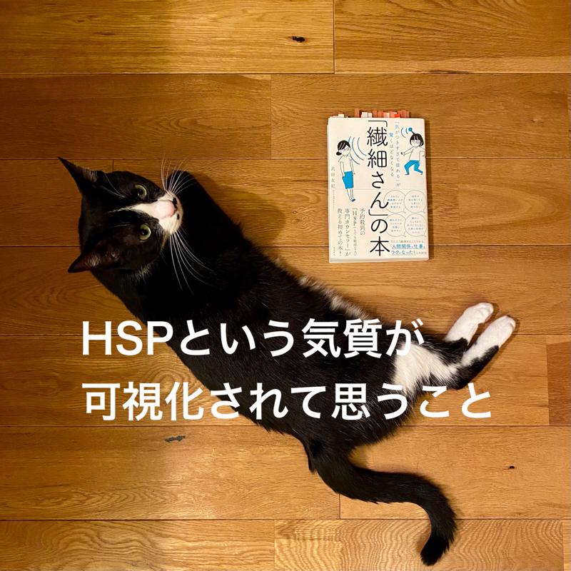 #375 HSPという気質が可視化されて思うこと