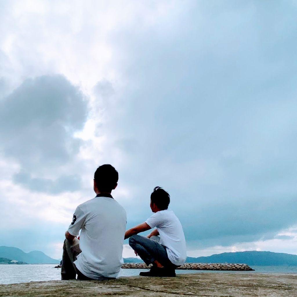 #097 瀬戸内海見て食べるうどん「うどんや」さん!
