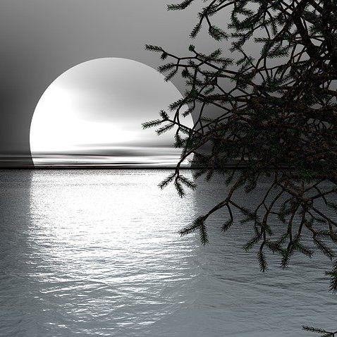 #132🌕天国の友へ。8月の月に想う/若き詩人、儚月さんの物語。