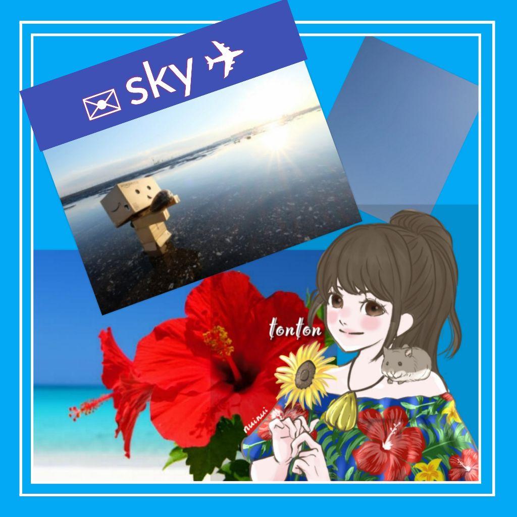 #305🔷あなたの空/東京の空からお祈りしています