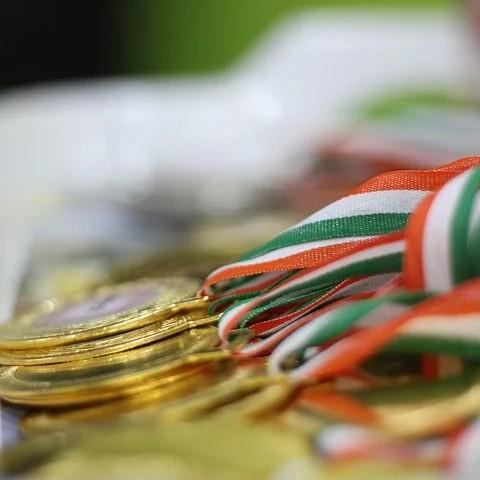 「君は将来金メダルを獲ると言った。何個も獲ると言った」