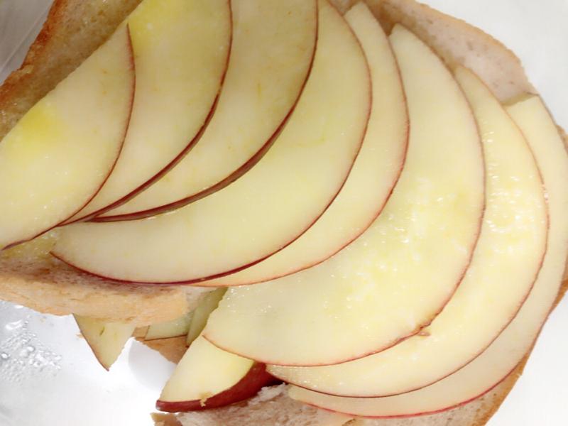 リンゴトーストと引越しの話