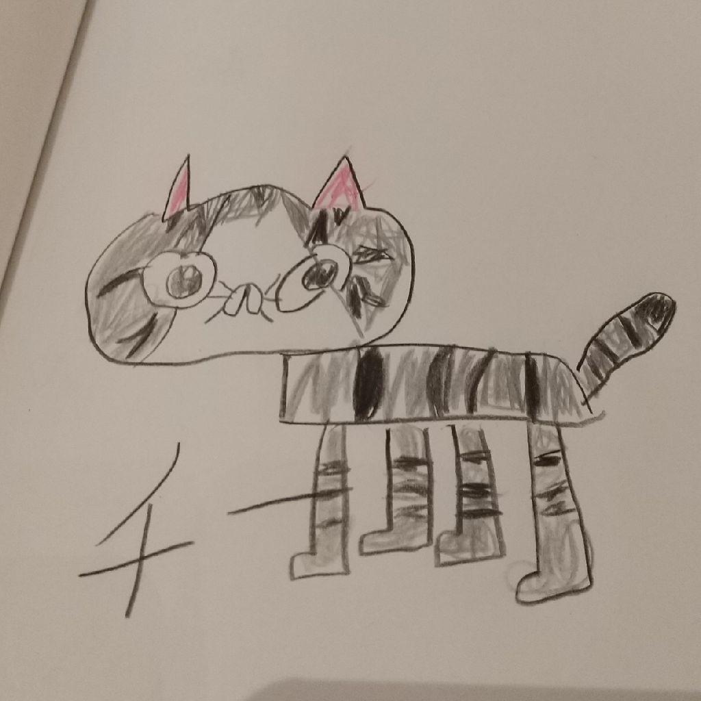#106 すねる3歳 兄自作「ねこちゃんのうた」