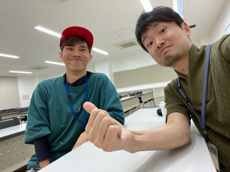 学生ゲスト 出席番号6 久米 #2