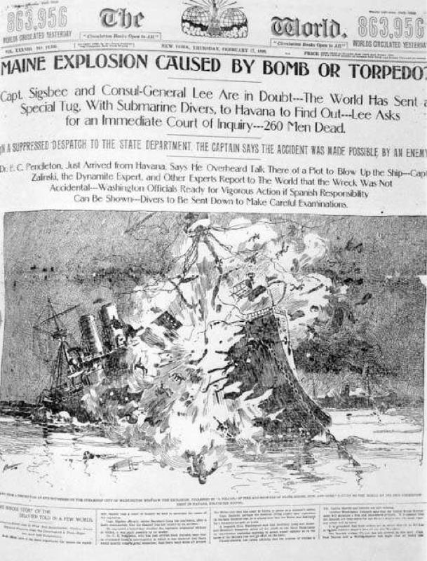 1898年2月6日 アメリカ帝国のデビュー戦 米西戦争の終結