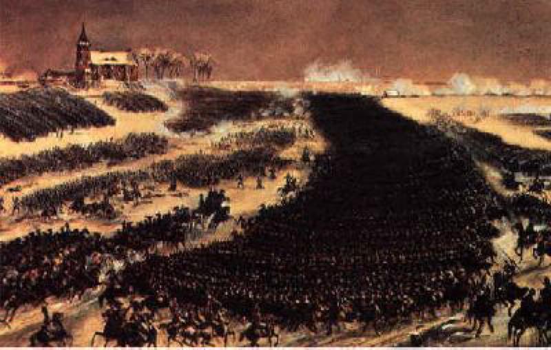 1807年2月7日 ナポレオン薄氷の勝利 アイラウの戦い