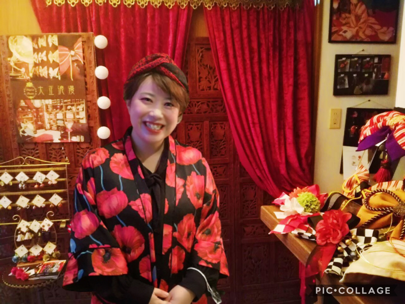 梅澤アンナの大正浪漫お喋り喫茶#086 大正ロマンコーディネートのポイント伝授