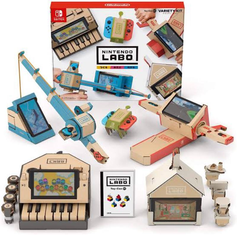 ゲームで学ぶ‼︎【Nintendo Labo】