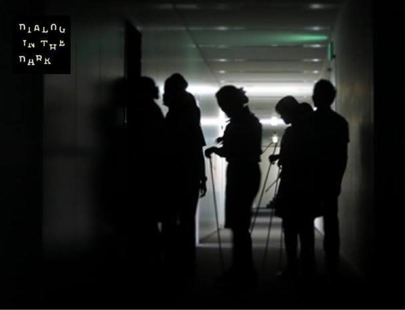 暗闇で遊ぶ⁉︎【ダイアログ・イン・ザ・ダーク】