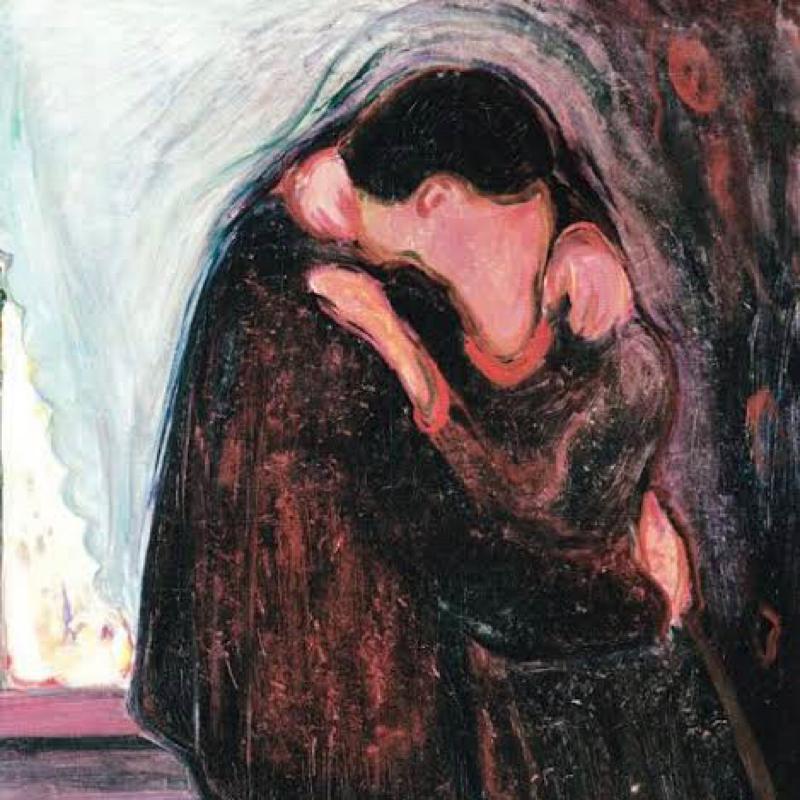 #70 ムンクの最高傑作は「接吻」だと思う。