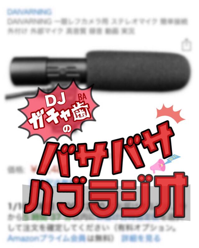 木曜回11.DJがちゃ歯のハブラジ〜Twitterでついイった話〜