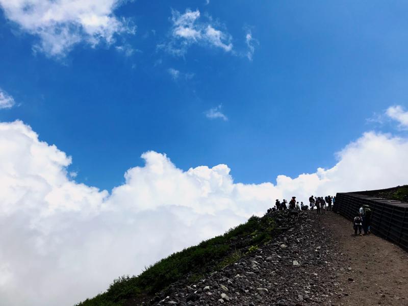 #002 初めて富士山に登ったお話 〜出発から山小屋到着〜
